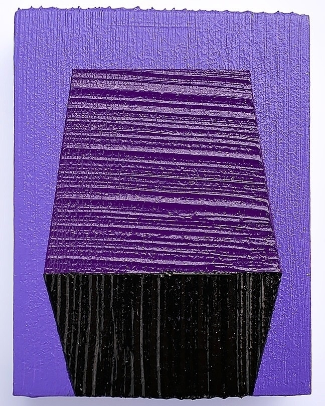 • 2.5 3.25 Acrylic Wood - PaintingForThePalmOfYourHand - andrew_faris | ello