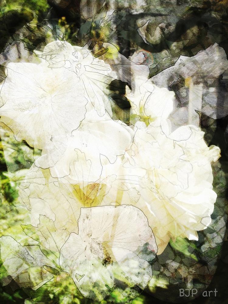 Komposition mit Rosen  - BJP_art - bringfried | ello