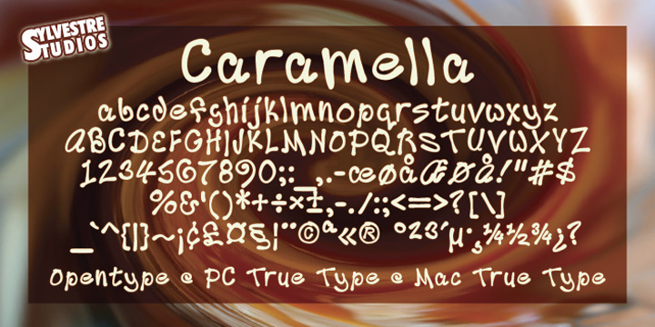 Caramella (Opentype/Truetype/We - micksylvestre | ello
