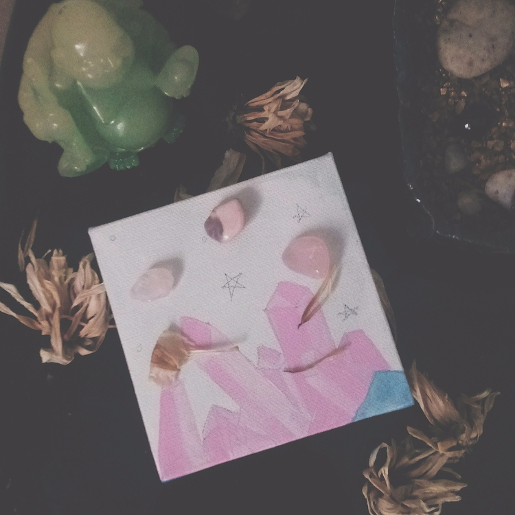 Sunday Funday - painting, pink, sunday - meatballvizzy | ello