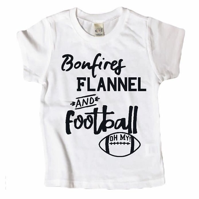 Bonfires, Flannel football shop - mamaandjoey | ello