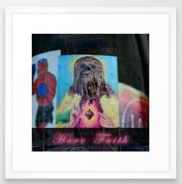 FAITH framed Giclèe art print - faith - trinkl | ello