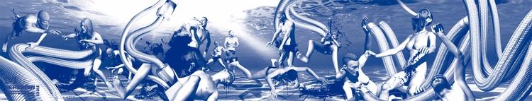 Artwork Flyer August 2017: Oliv - berghain | ello