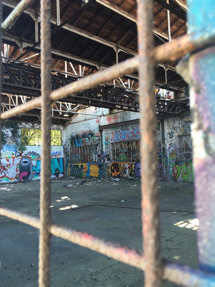 Abandoned Factory - streetart, streetartist - philippefabry | ello