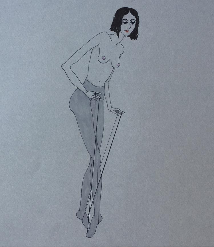 delicate steps - kunst, drawing - lorettamae | ello