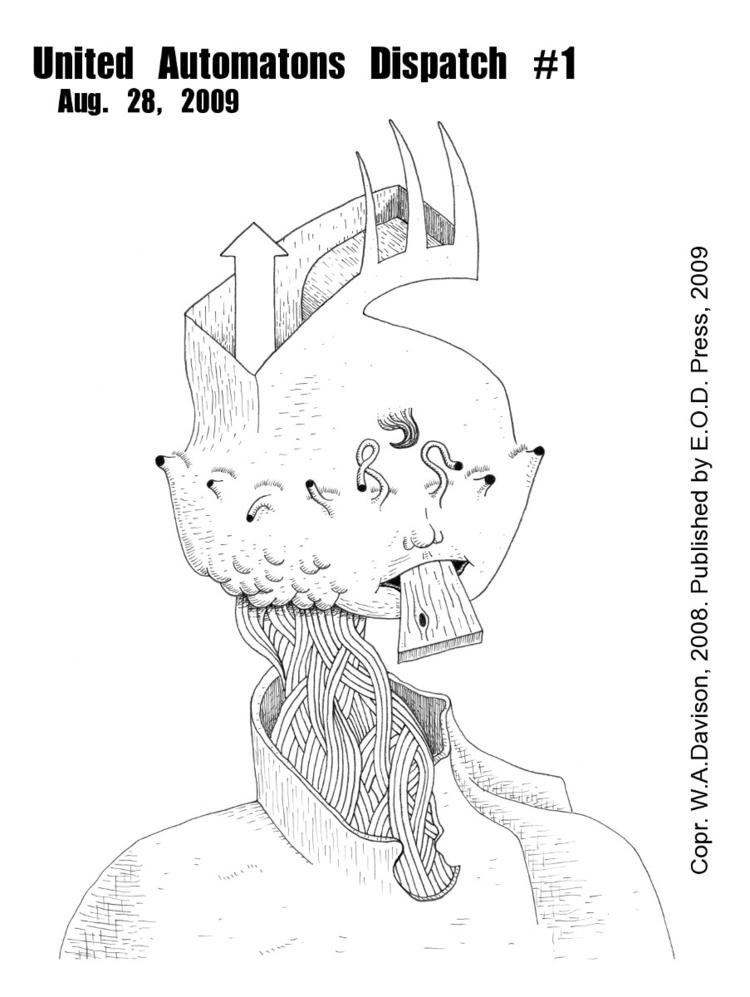 series art zines 2009 - graphzine - w_a_davison | ello