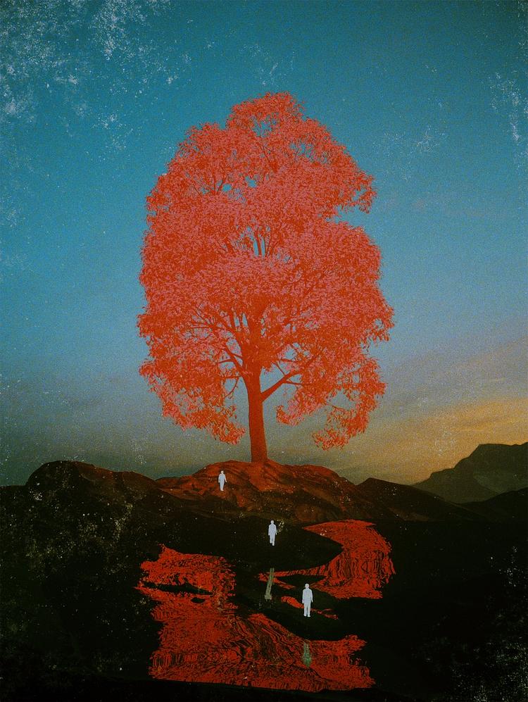 TREE PROMISED (Day 212 - Cinema4D - polygonatic | ello