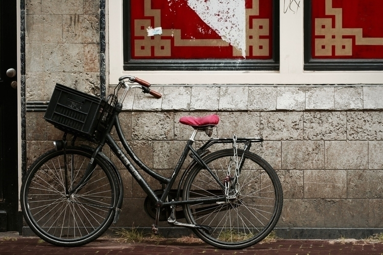 Biking (Solo). Amsterdam. 202 3 - anthull | ello