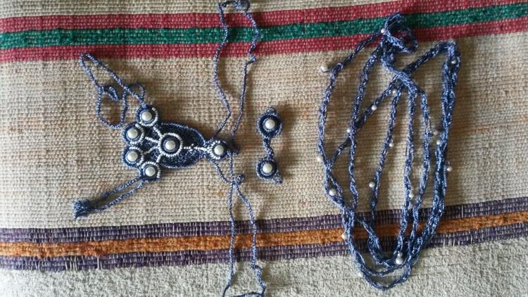 Bracelet, double-ring, necklace - hamsiel | ello
