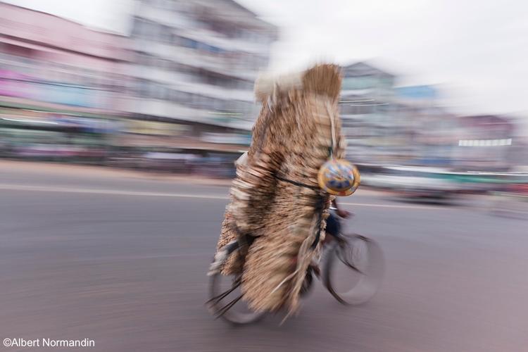 Rushing traffic south - Myanmar - albertnormandin | ello