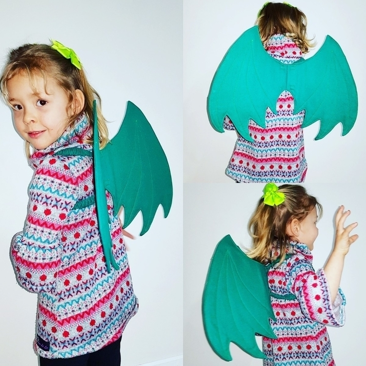 girls fairy wings? dragon wings - loulala_boutique | ello