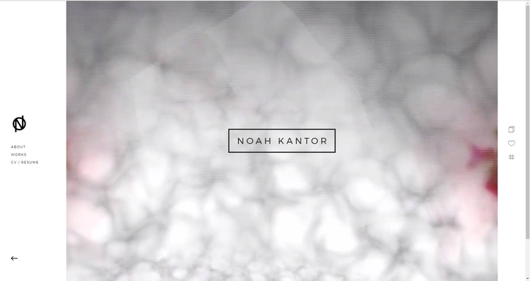 Working version website. though - noahkantor | ello