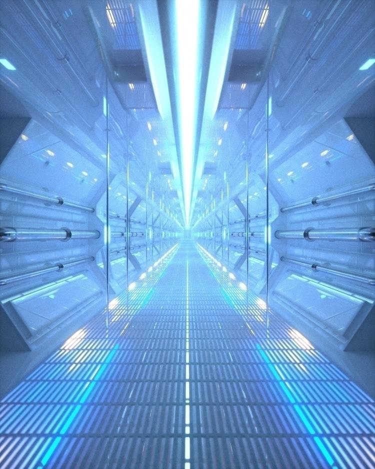 Corridor - nessgraphics | ello