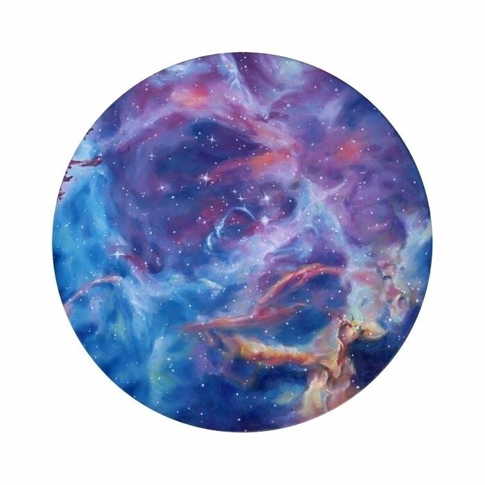 Rosette Nebula, oil painting bo - trishathompsonadams | ello