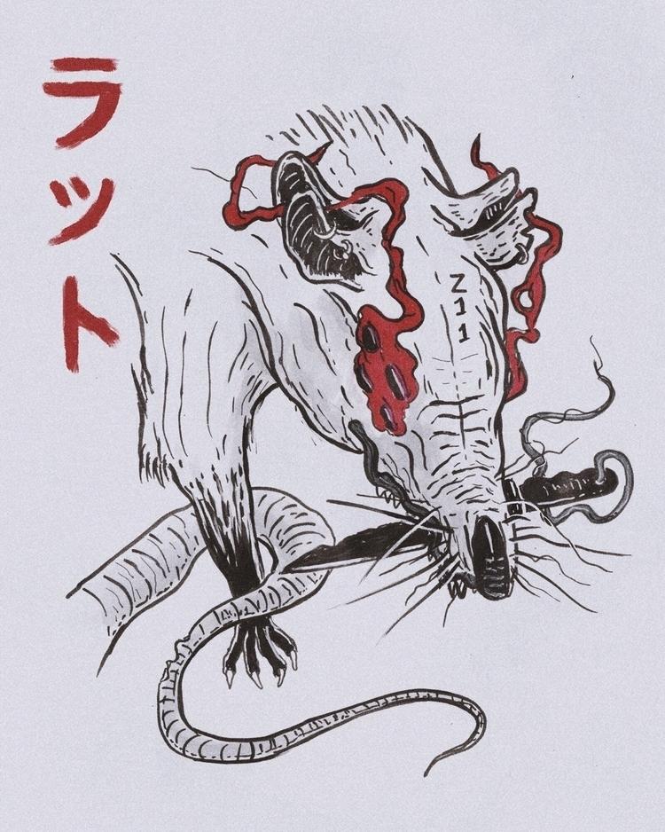 Daily 211 - Mutant Pirate Rat K - mwstandsfor | ello