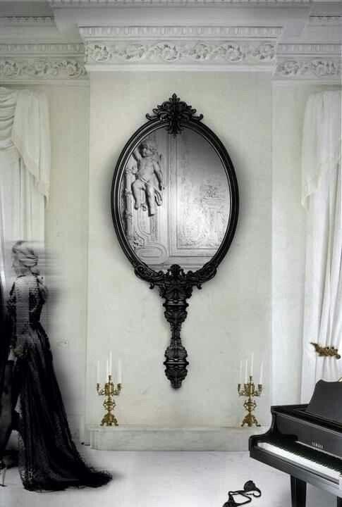 Mirror mirror wall....#divinati - thewitchescaravan | ello