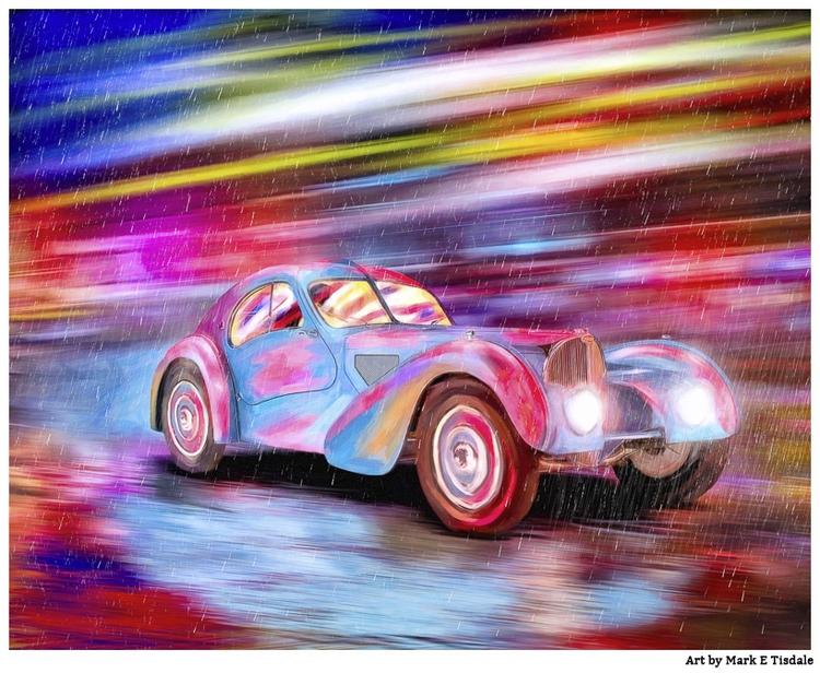 Classic Bugatti rain - lot fun - tismark | ello