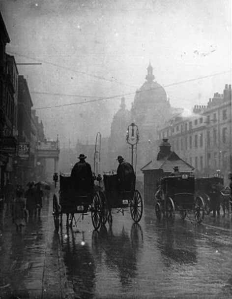 vintage, victorian, london, streetscene - victorianchap | ello