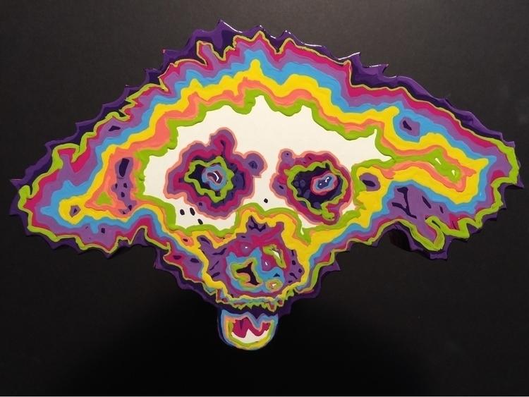 Psychedelic Piper - enamel sign - markedarts | ello