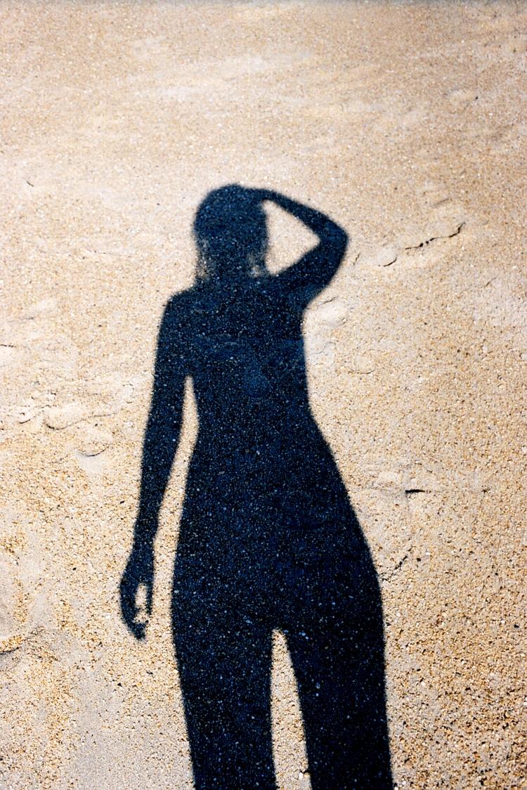 analog, photography, girl, ocean - pauline_roquefeuil | ello