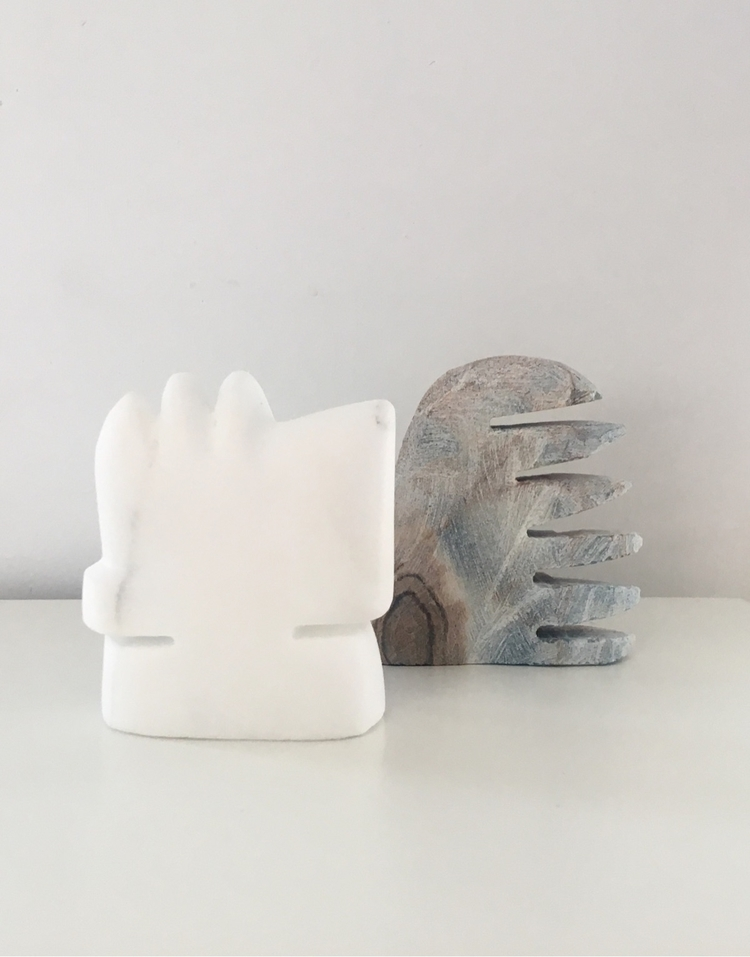 WIP - Square Form, marble Comb  - daniel_am   ello