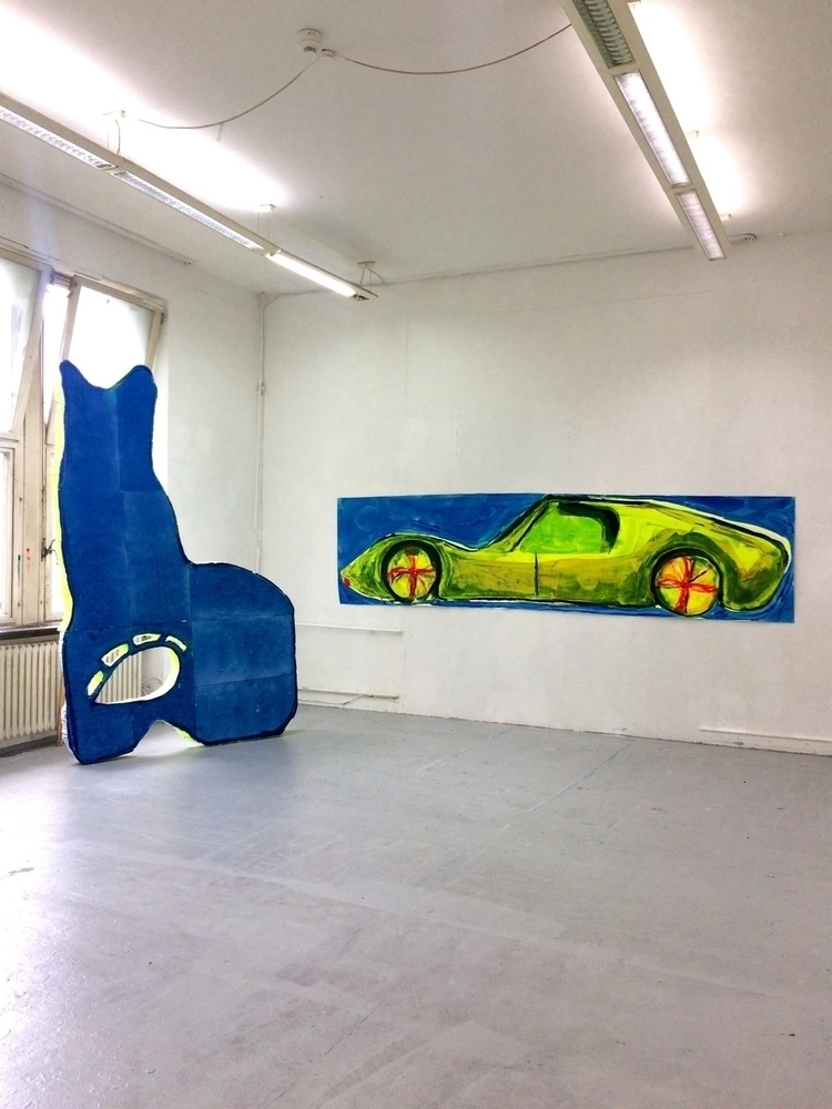 exhibition, view, contemporary - julikageissler   ello