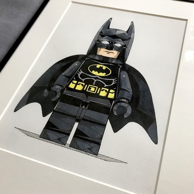• Batman Lego Illustration Birt - roeliob_illustrator | ello
