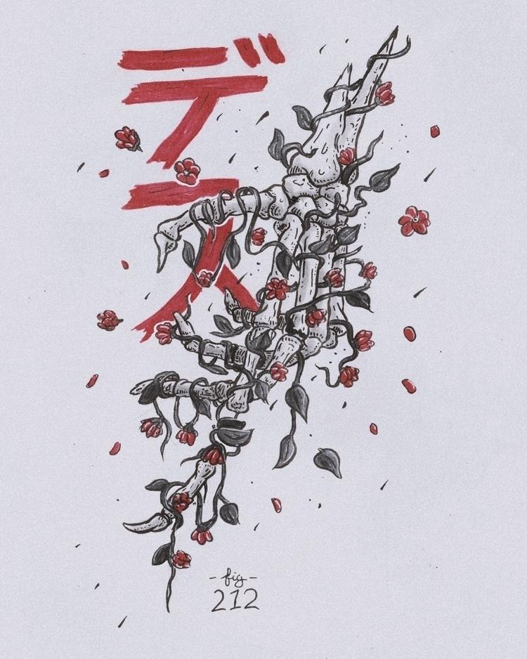 Daily 212 - Flowering Death⠀⠀  - mwstandsfor | ello