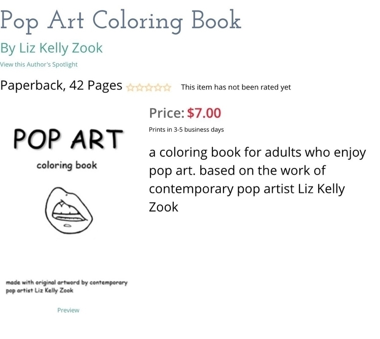 coloring book. ordered proof. g - lizkellyzook | ello