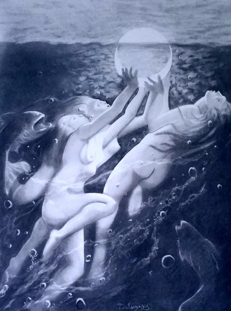Moon Nymphs Icaris Bullcazzo - mysticsatyr | ello
