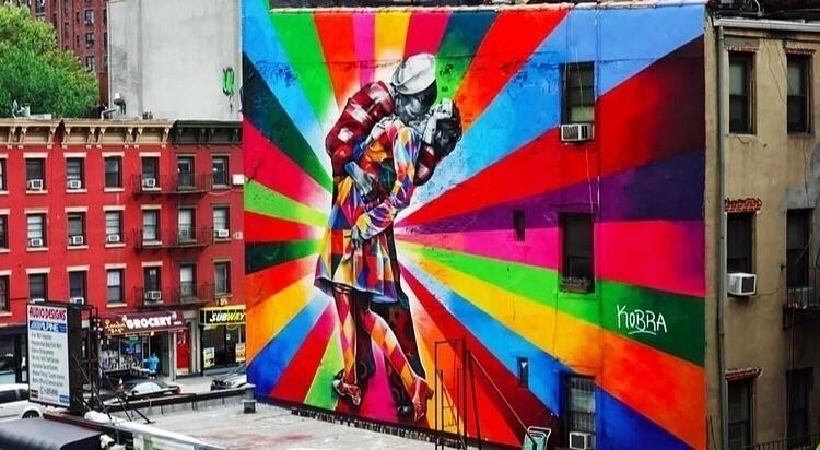 Street art - painting, graffiti - bitfactory | ello
