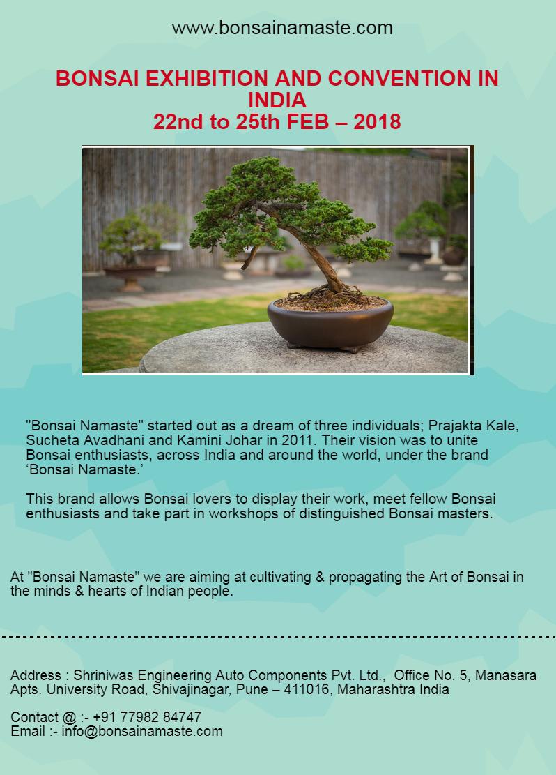 Bonsai Tree Exhibition 22nd 25t - bonsainamaste | ello