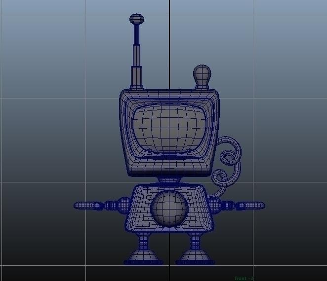 Digimo Model working robot - 3D - duhzoid   ello
