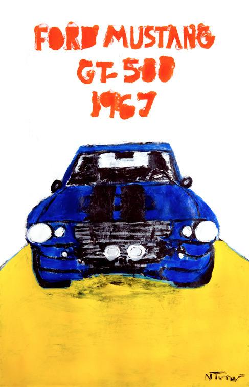 1967 Ford Mustang SHELBY GT500  - nealturner | ello