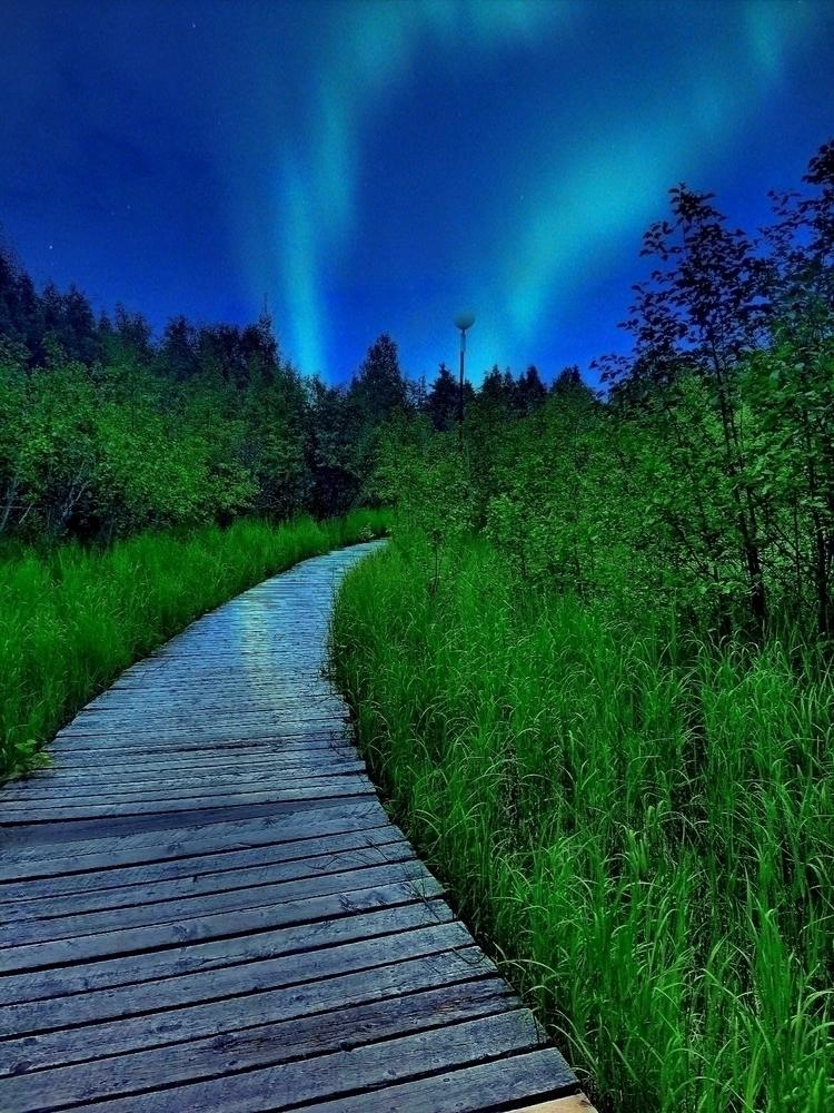 Alaska Alaska#Northernlights#au - loveelle | ello