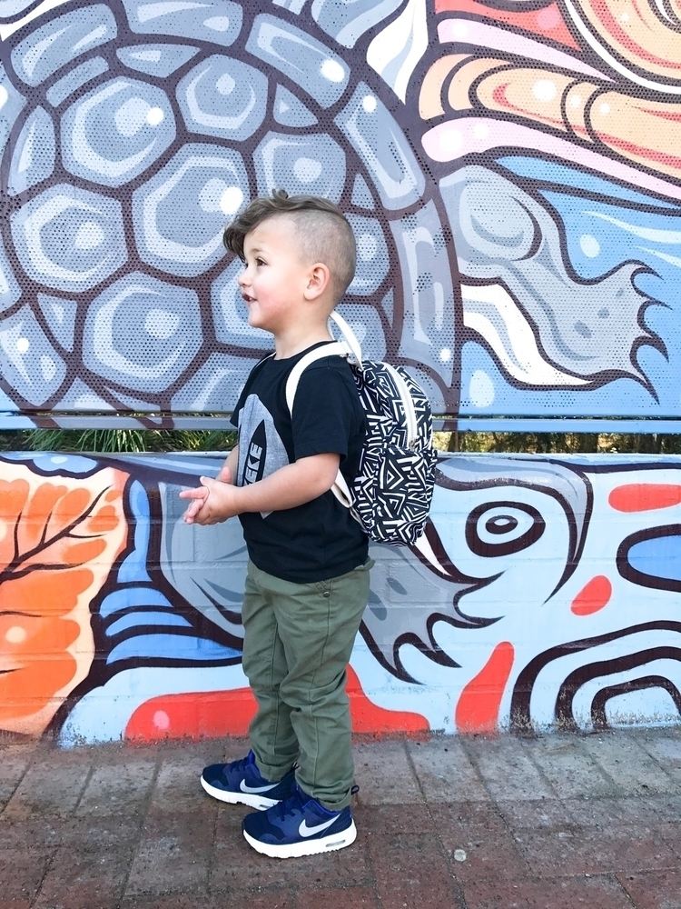 Archie backpack size daycare ba - zeke_and_co | ello