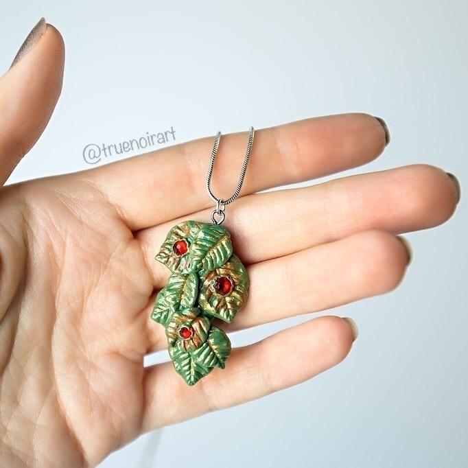 forest pendant Etsy shop! truen - truenoir | ello