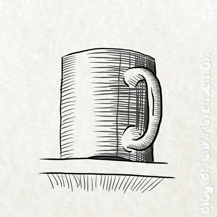Draw - coffee, mug, shelf - art2u   ello
