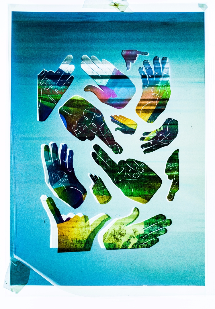 Hand - Illustrated, poster, illustration - bethsalter   ello