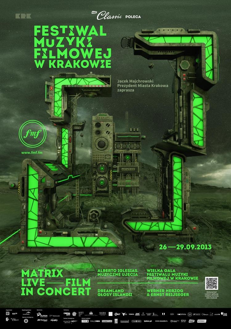 poster Film Music Festival Krak - victorsoma | ello