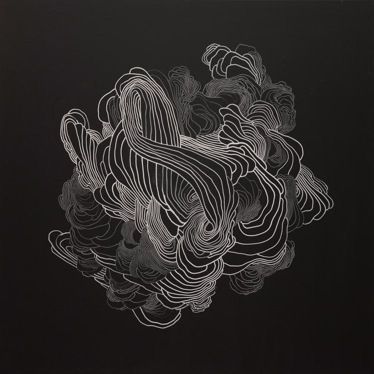 'Der' 2016. Acrylic marker canv - thejanove | ello