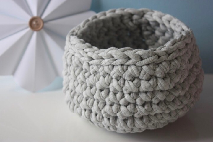 Pretty grey basket match soft b - charming_giggles | ello