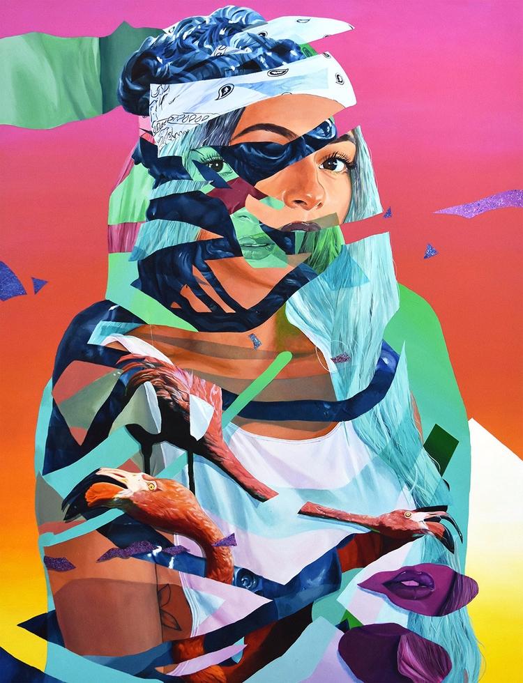 Neo-Pop art Miami-based artist  - fabimo   ello