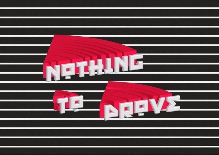PROVE - lines, red, typography, type - max_yan   ello