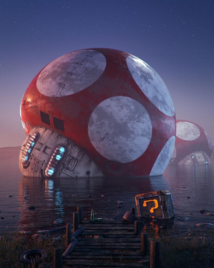 Pop Culture Dystopias: Digital  - scene360 | ello