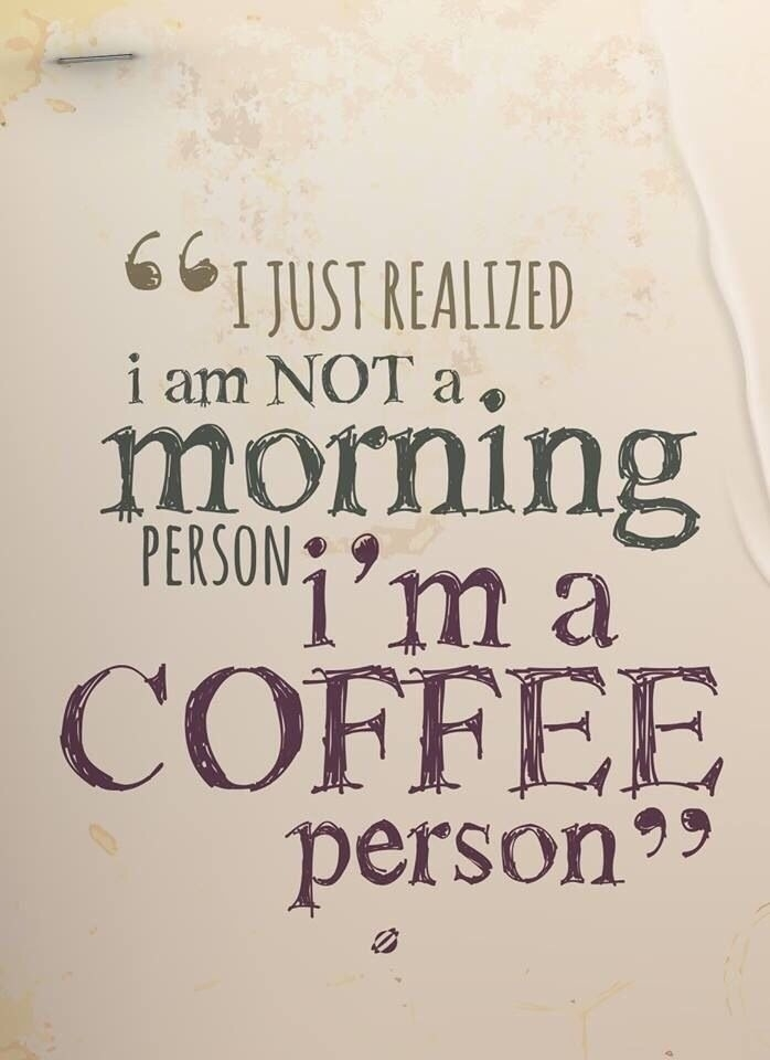 coffee person ;) Remember menti - ellocoffeelovers | ello