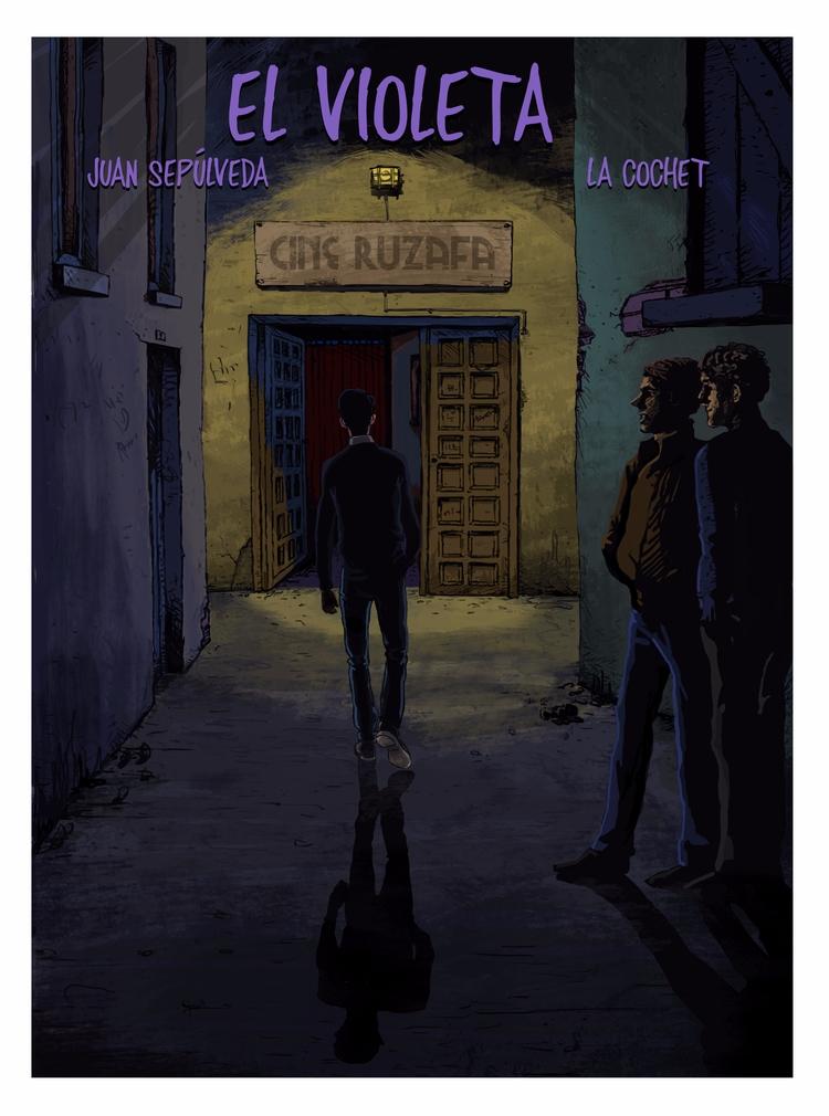 Cover 'El violeta'. story repre - lacochet | ello