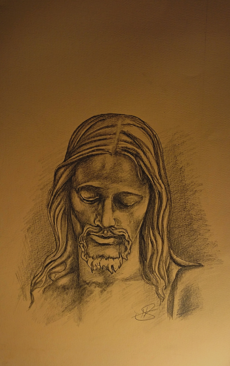 Jesus commision drawing. Graphi - stokholm | ello