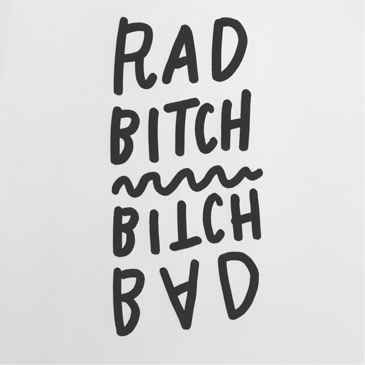 Daily Drawing Day - Rad Bitch  - wawawawick | ello