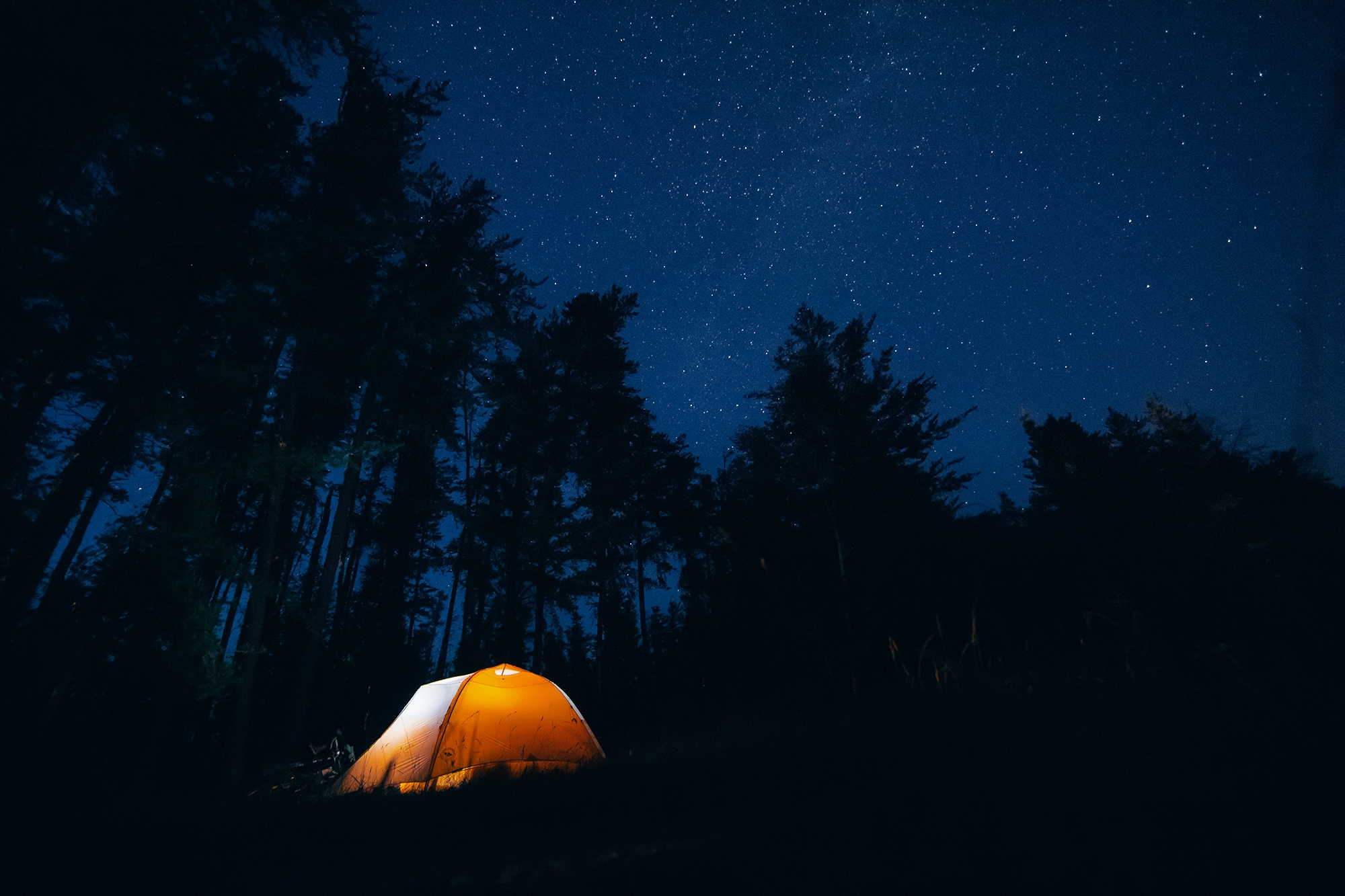 meaning night photography tent  - jonathonreed | ello
